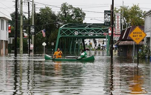 Flood 2011 In Cumberland County