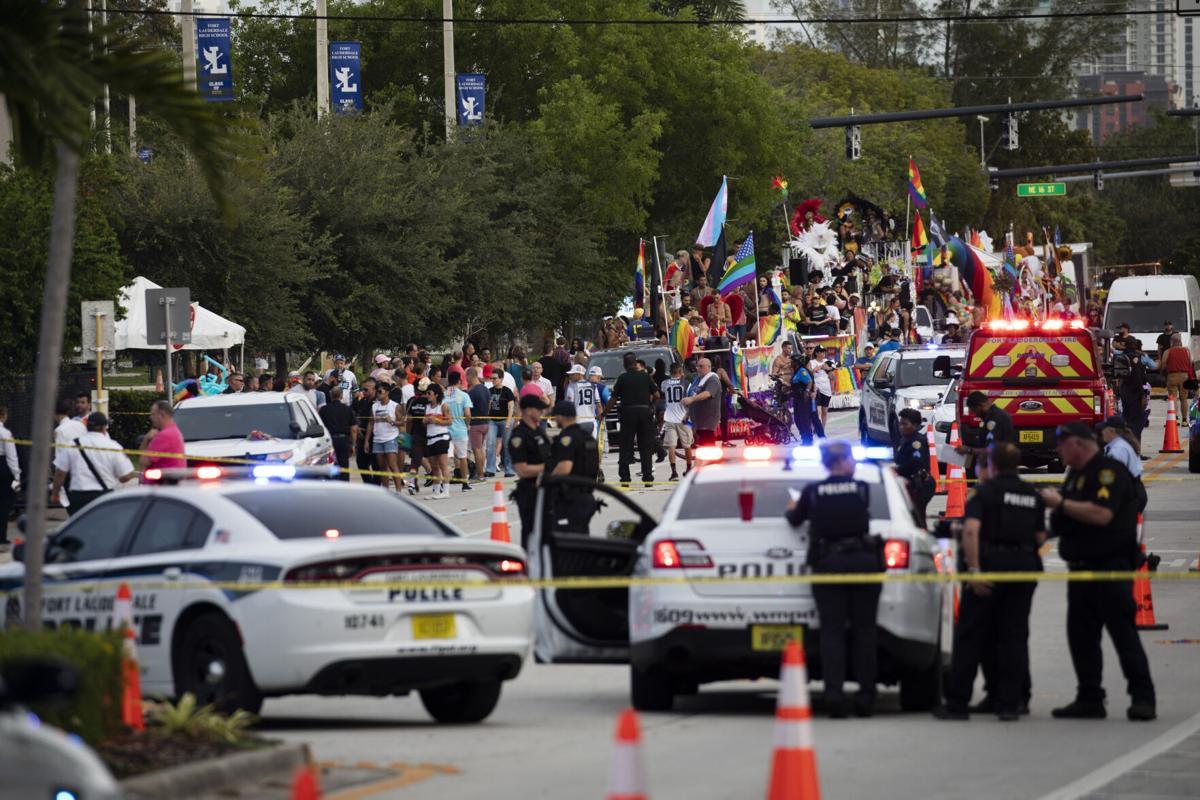 APTOPIX Pride Parade Crash