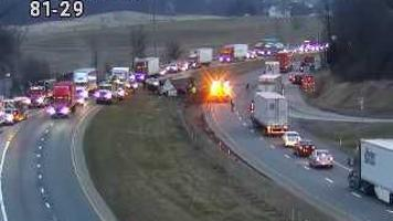 13 Cows killed in crash along Interstate 81 in Shippensburg