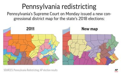 Judges Decline To Immediately Throw Out Congressional Map Politics - Us-2011-congressional-district-map
