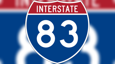Interstate 83 sign