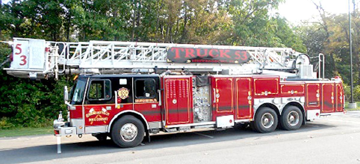 Cumberland Valley Hose Company ladder truck
