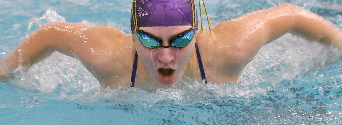 Hs Swimming Photos Boiling Springs Vs Trinity At Messiah College Swimming
