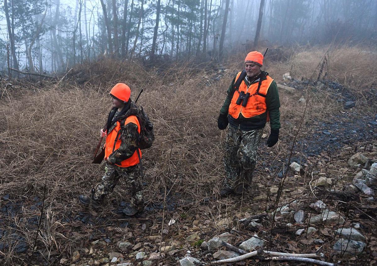 First Day of Rifle Deer Hunting Season
