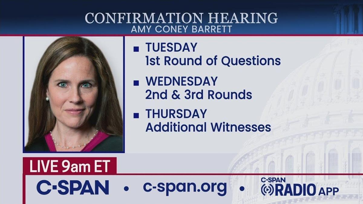 Confirmation Hearing For Supreme Court Nominee Judge Amy Coney Barrett Day 4 Live Cumberlink Com