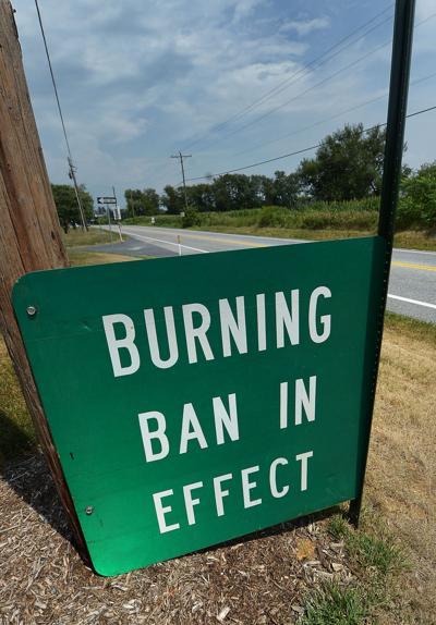 Burning Ban Sign