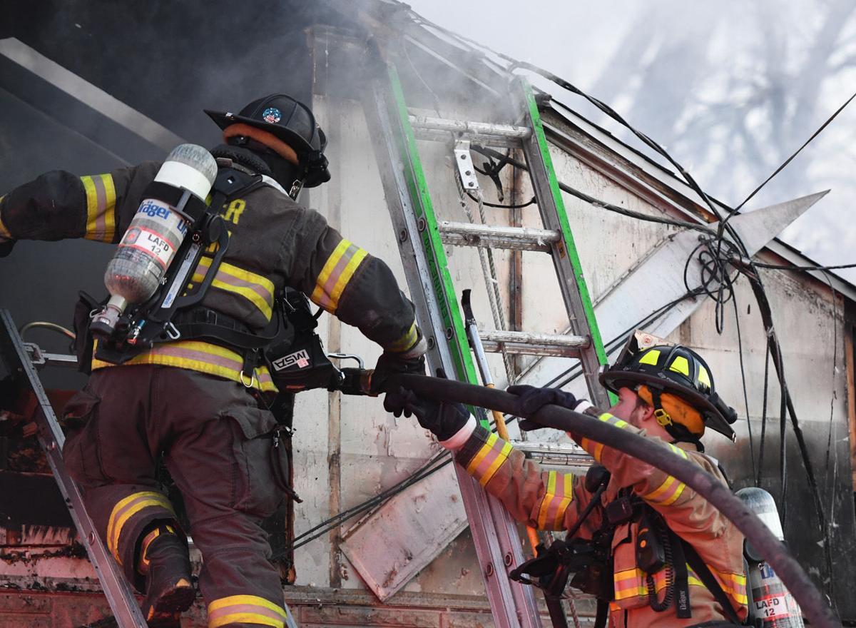 Hampden Township fire