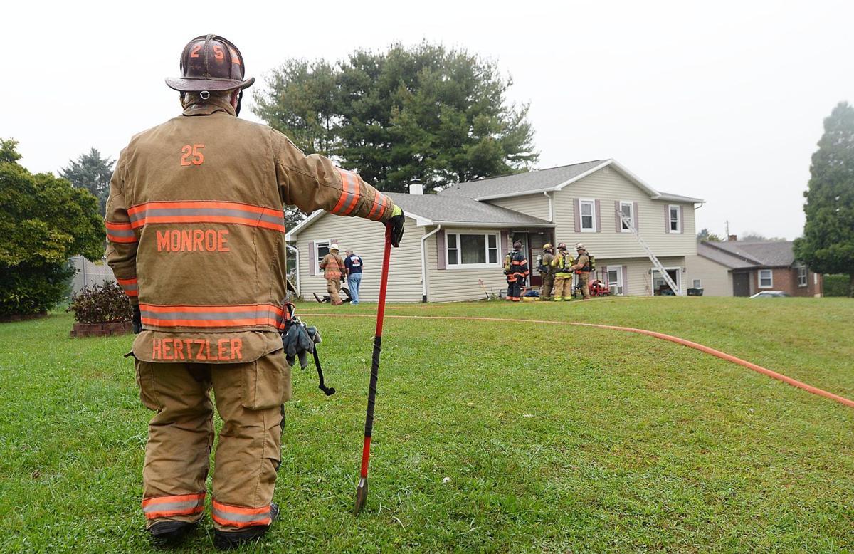 House Fire 36 Carlton Ave