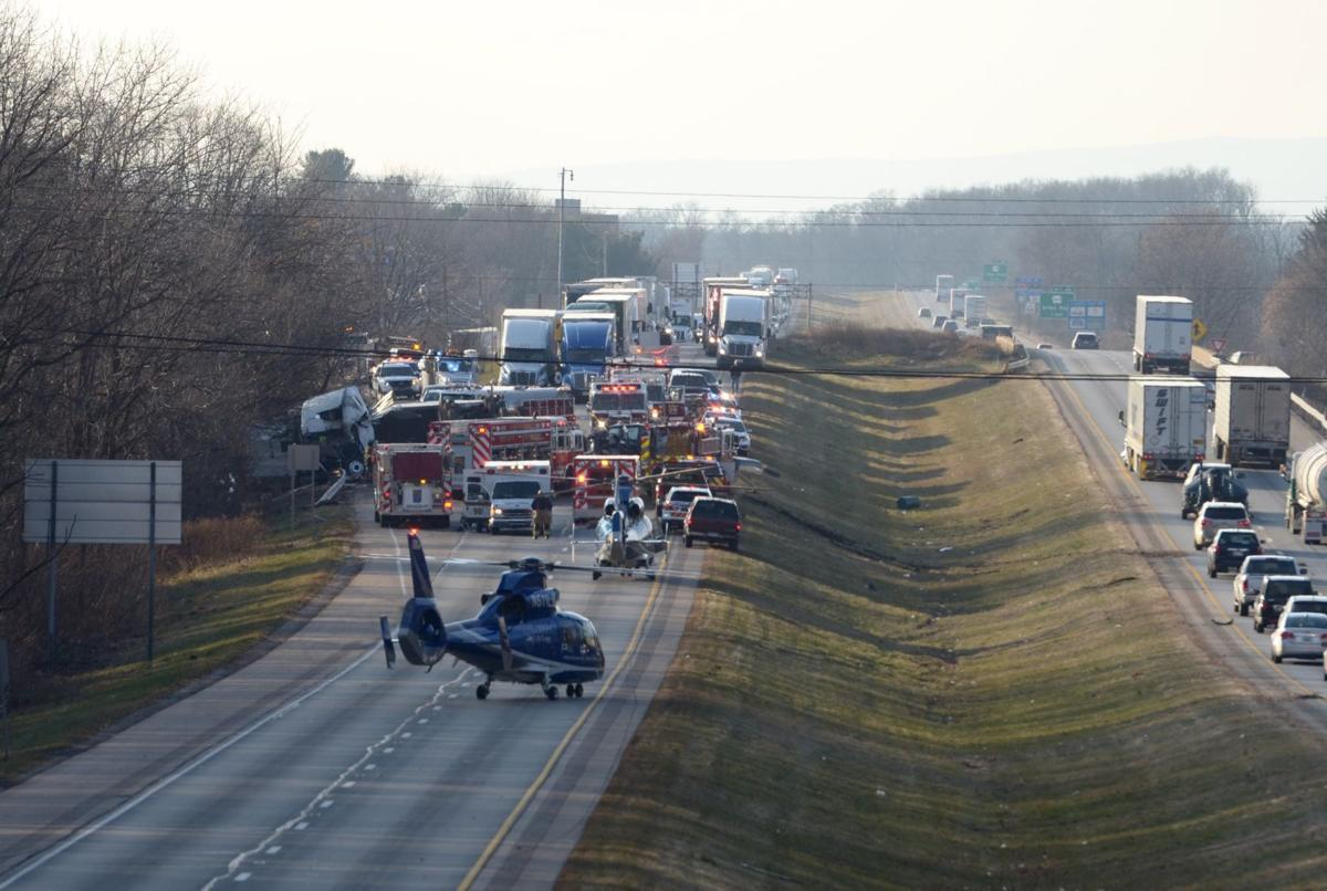 One Killed Two Injured In I 81 Crossover Crash The Sentinel