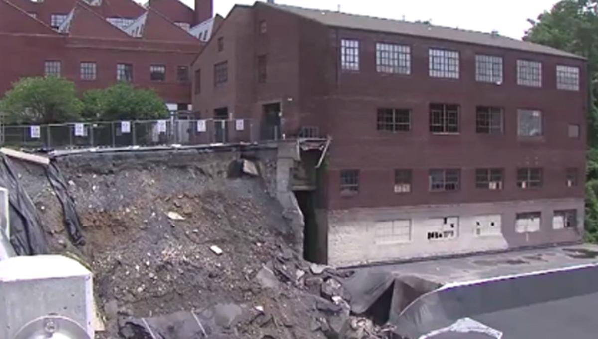 Harrisburg wall collapse