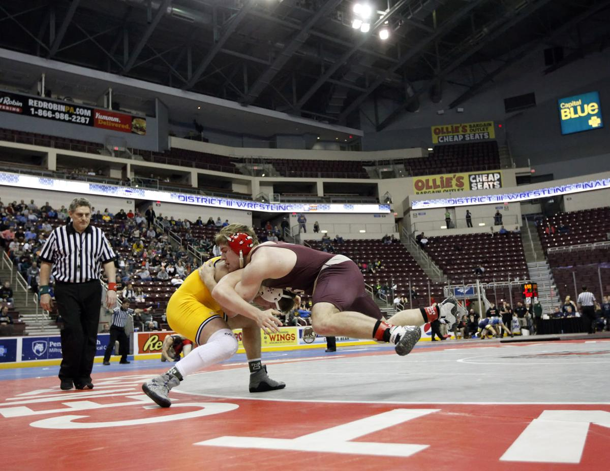 District 3 3A/2A Wrestling - Finals