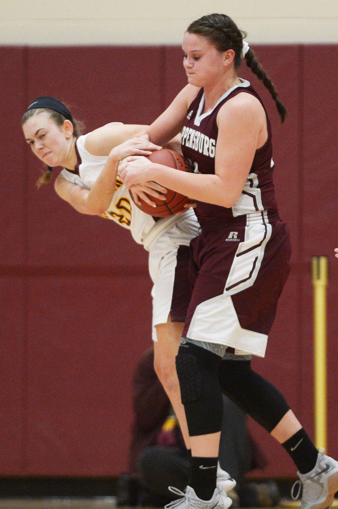 Girls Basketball: Shippensburg at Big Spring (copy)