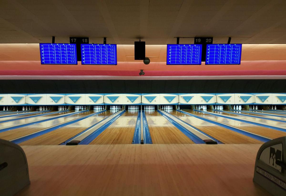 Midway Bowling Center lanes
