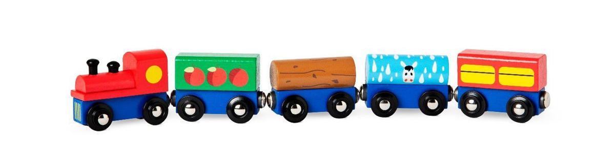 Recall wooden train