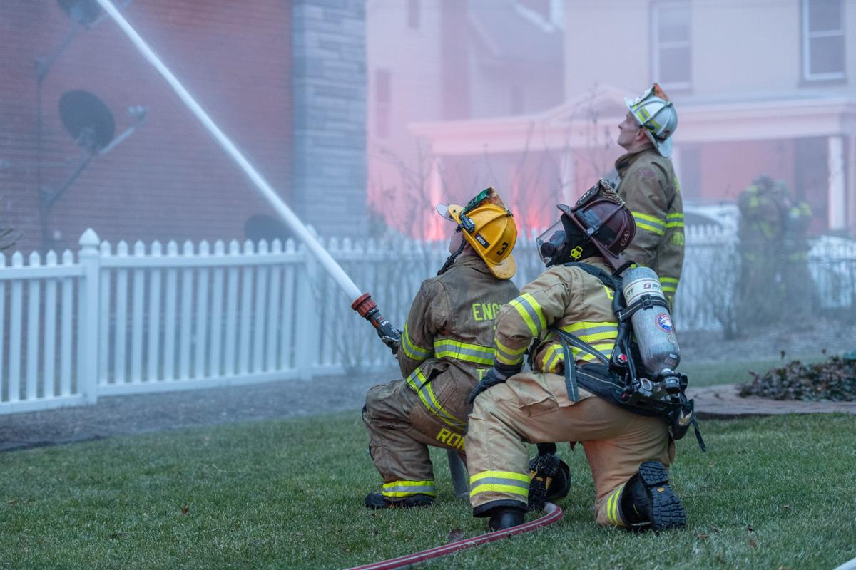 Boiling Springs fire