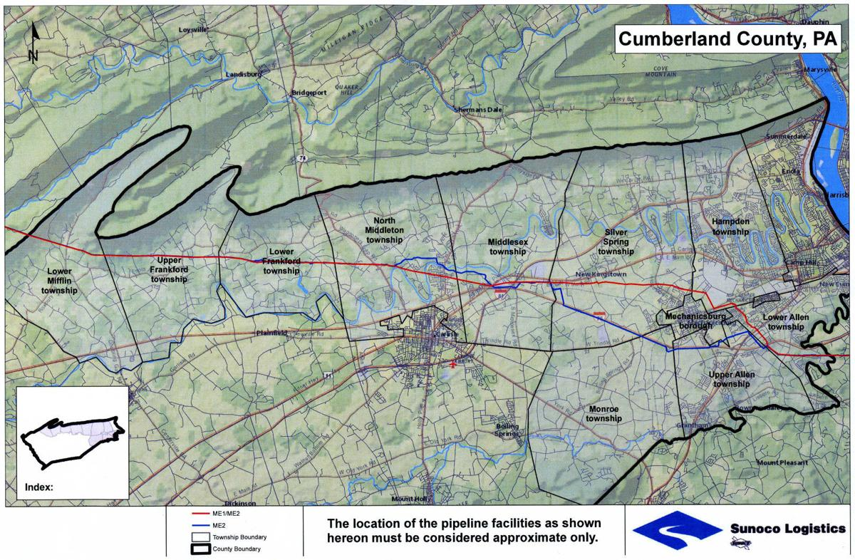 Sunoco presents pipeline plan to Cumberland County residents