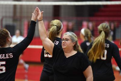Carlisle at Cumberland Valley Girls Volleyball (copy)