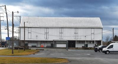 Claremont Road storage barn
