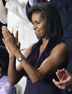 Why all the fuss over a first lady's bare arms?