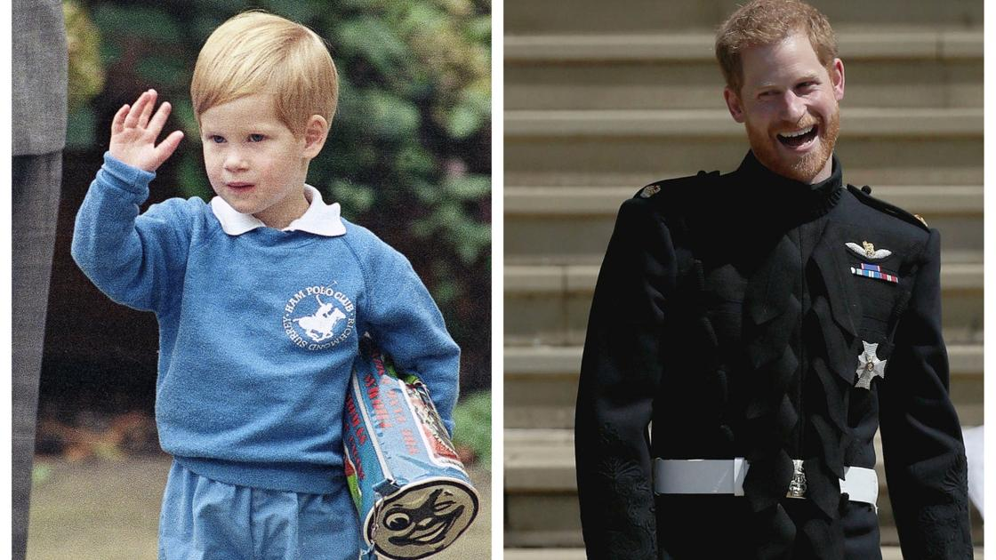 Photos: Looking back at Prince Harry through the years