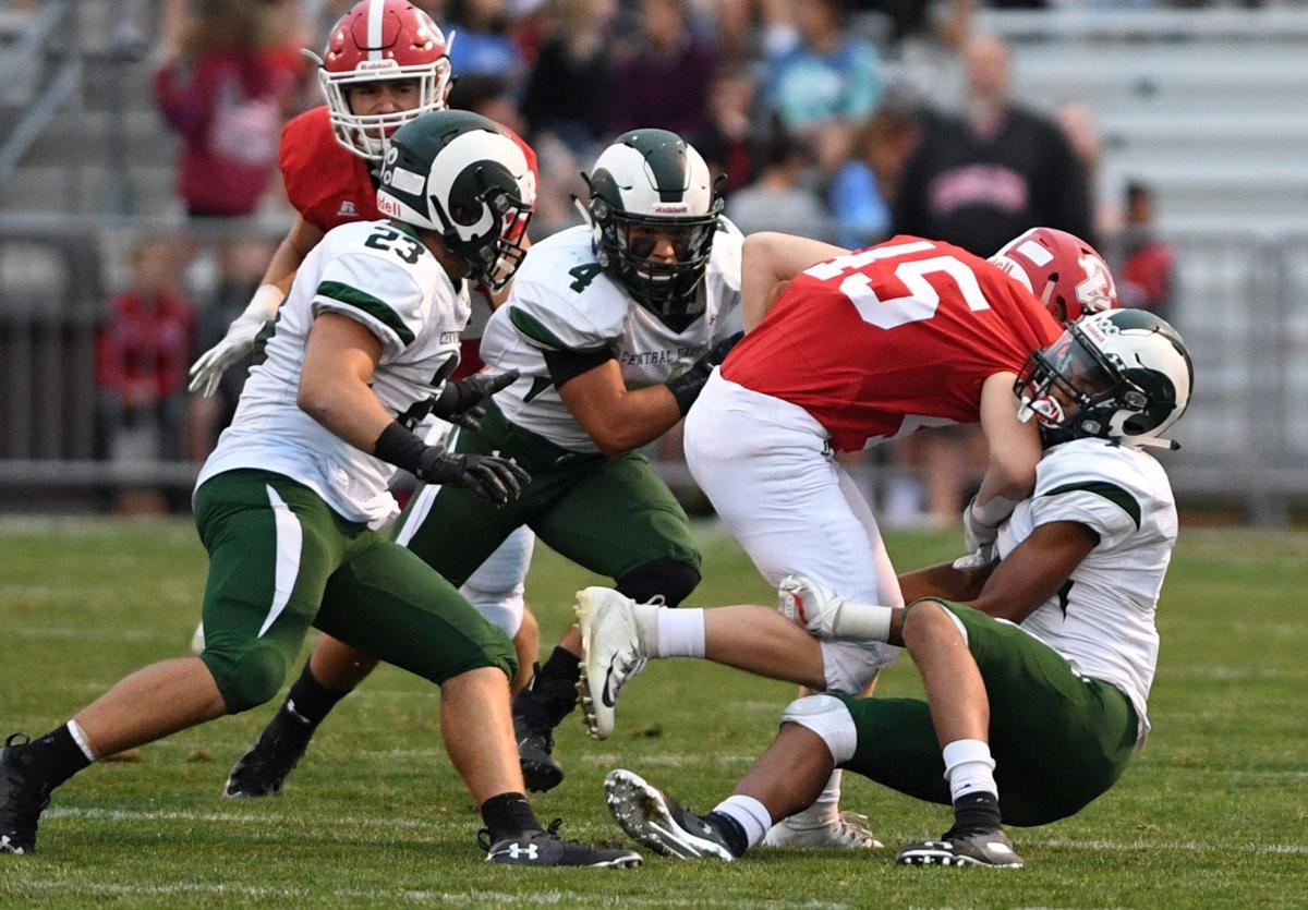 Cumberland Valley Central Dauphin Football 1