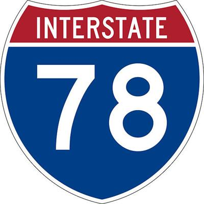 Interstate 78 logo