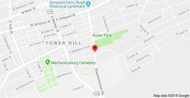 Elmwood Avenue and Shepherdstown Road