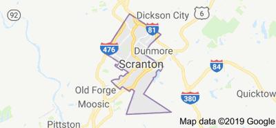 Scranton map
