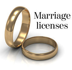 Marriage licenses logo