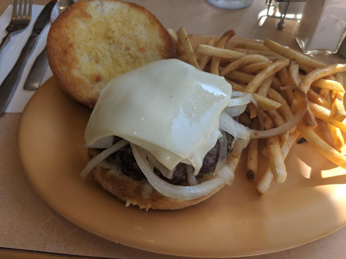 Marie's Cafe cheeseburger