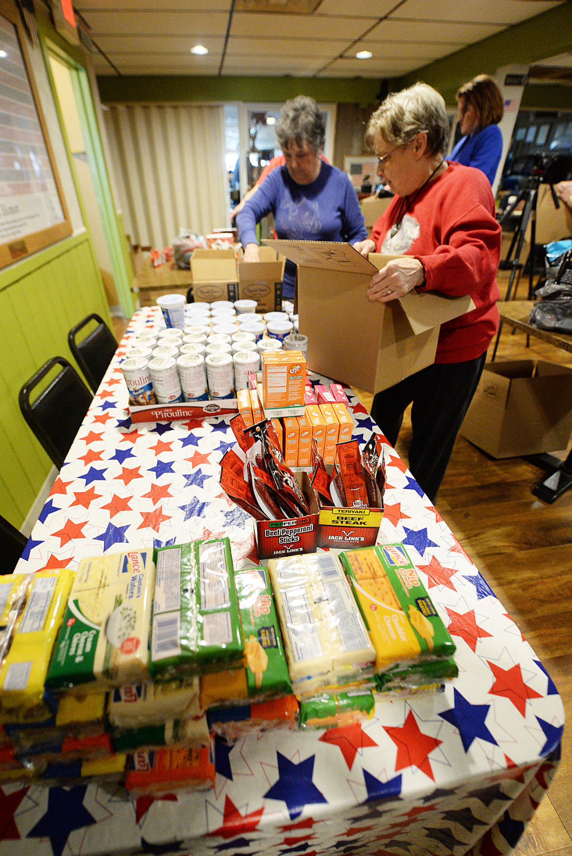 Amvets Pack Boxes For Troops