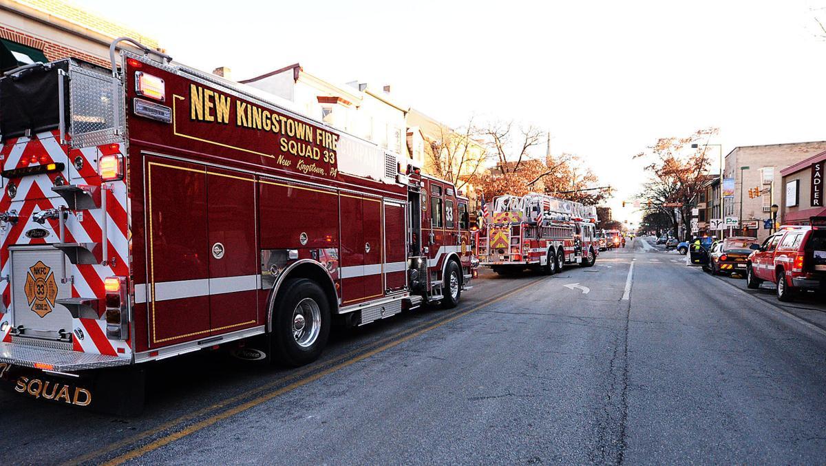 North Hanover Street Fire