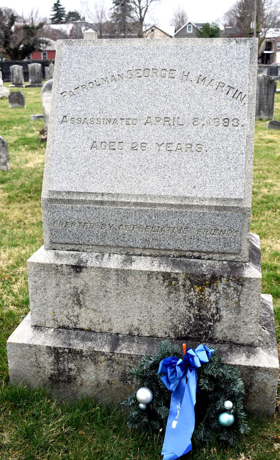 martin headstone