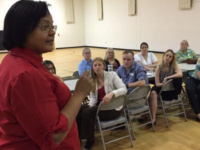 YWCA discussion