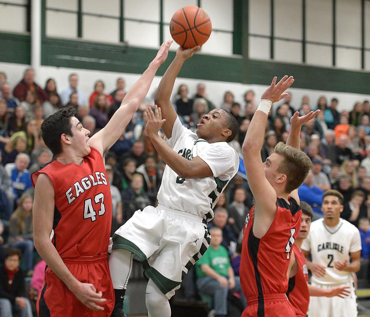 boys basketball  carlisle sweeps cv for second straight