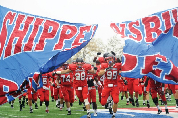College Football Shippensburg Seals Psac East Title With Win Over