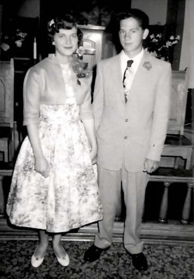 Bob and Darlene (Walters) Palmer