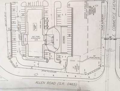 South Middleton hotel plan