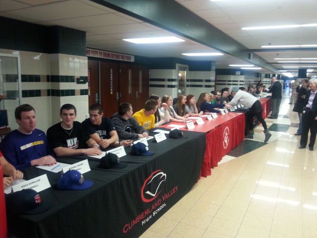 Cumberland Valley Signing Day