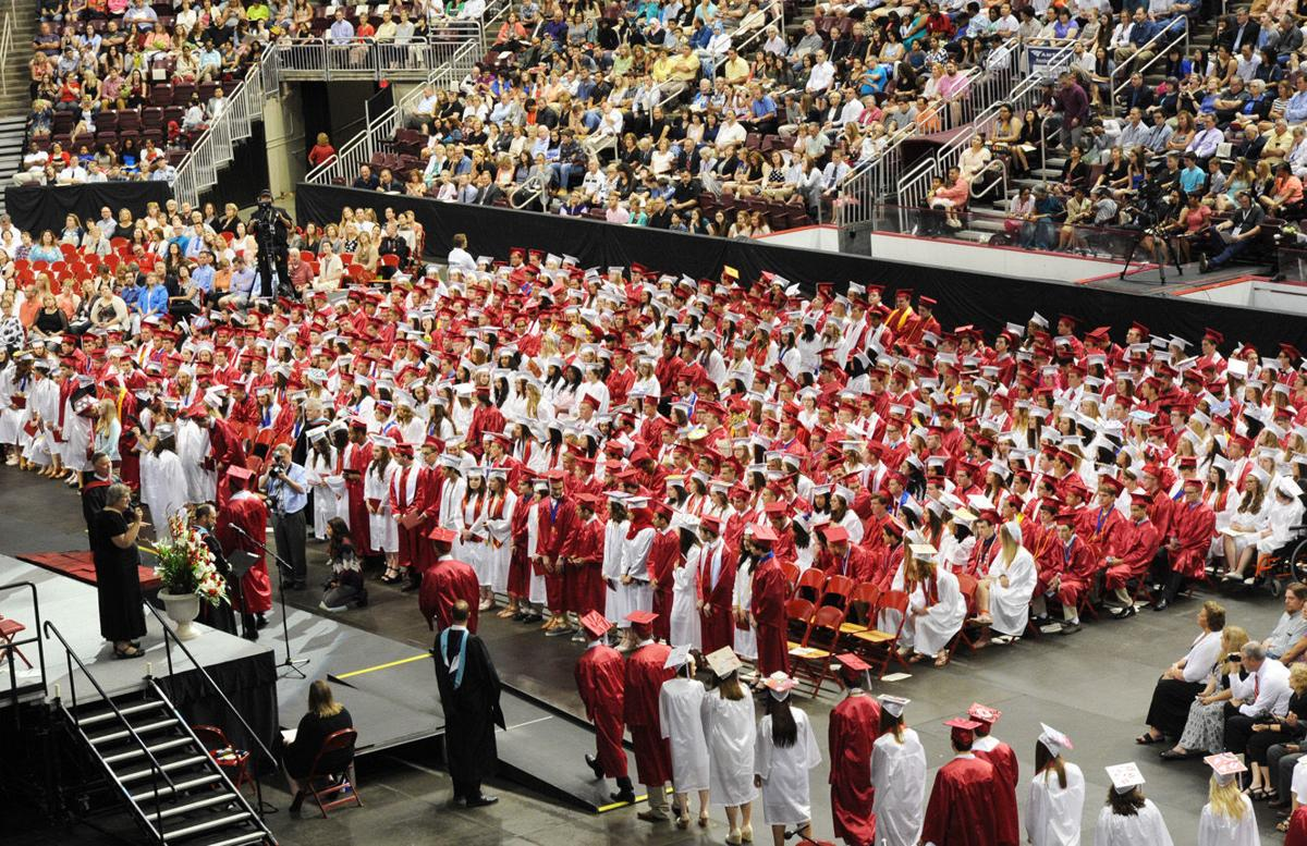 Cumberland Valley High School graduation 2016 | Photo ...