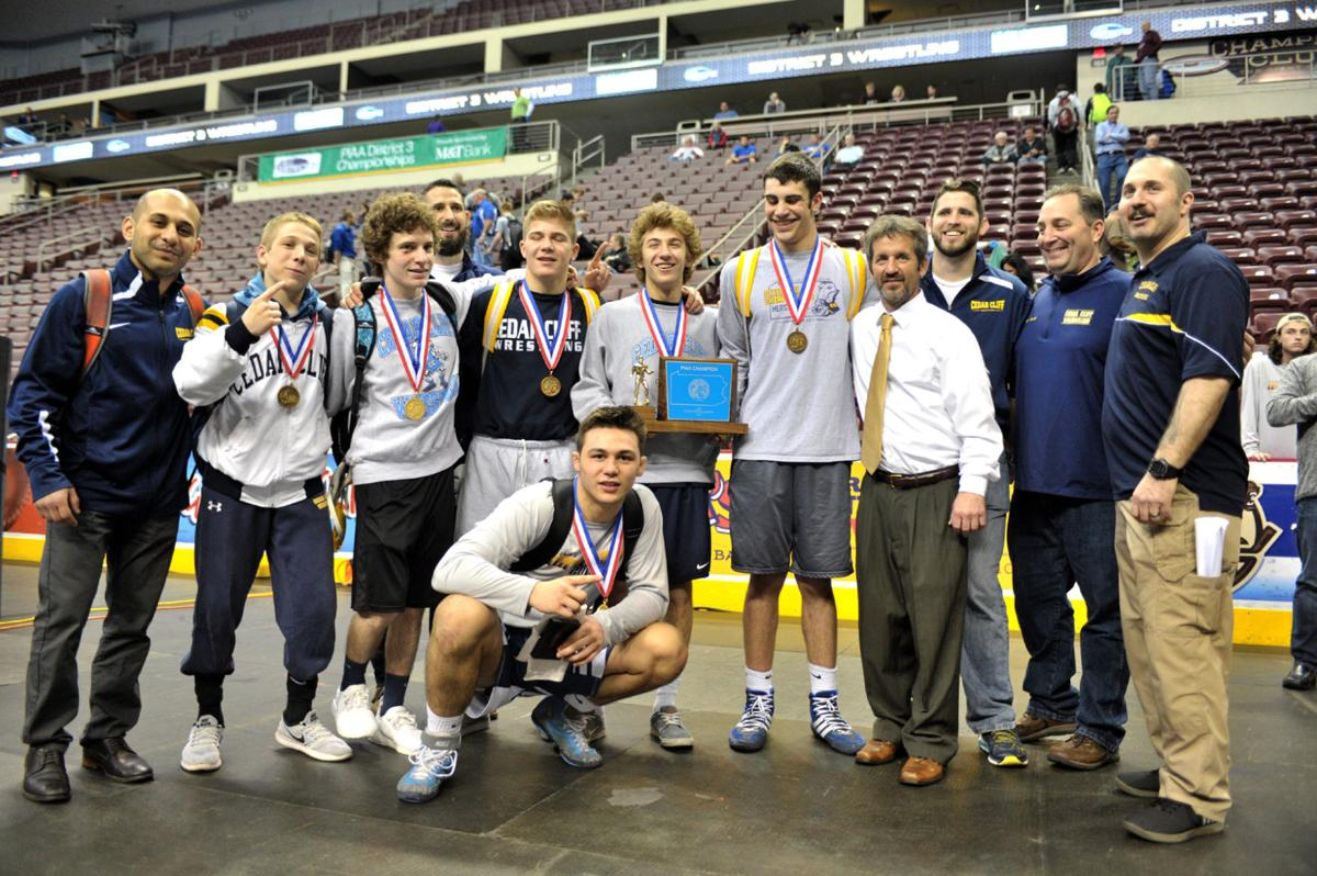 Cedar Cliff Wrestling Coaches Rob and Thad Rapsey