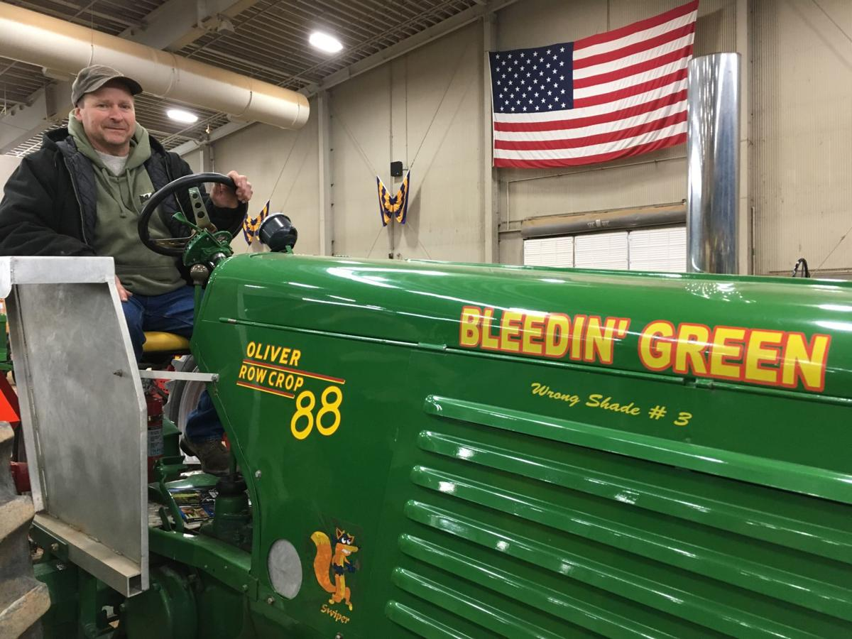 Pull of time: Drivers and old tractors show their stuff at