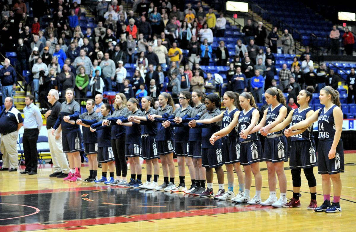 PIAA Girls Basketball Quarter Final Camp Hill vs Mahanoy Area, M (copy)