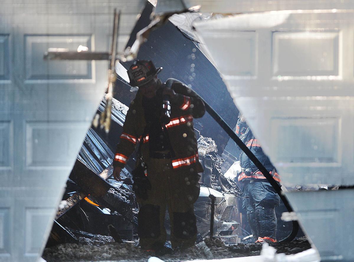 South Middleton Garage Fire