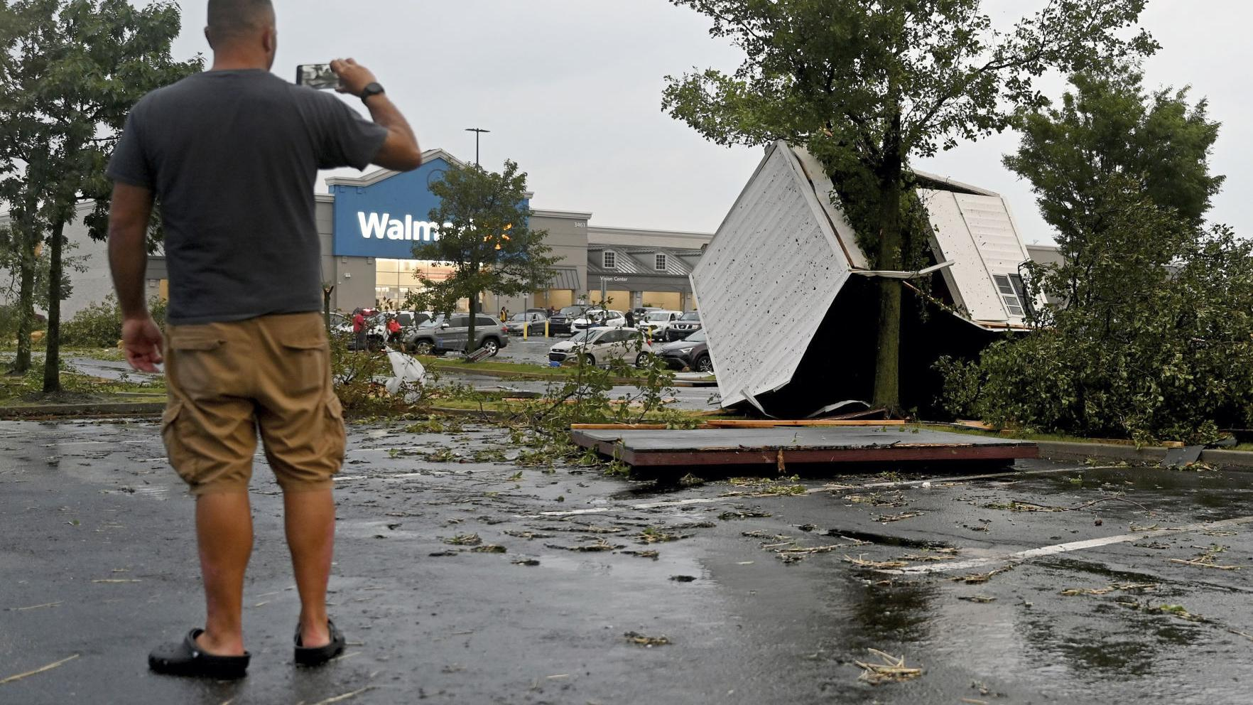 Watch Now: Tornadoes spur injuries, damage in eastern Pennsylvania Thursday