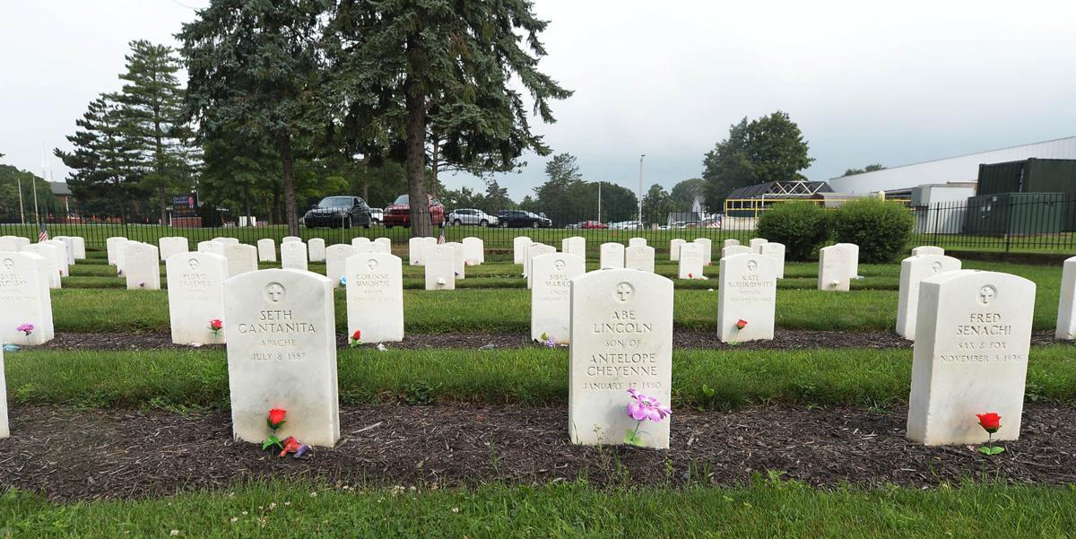 Indian Cemetery Gravesites
