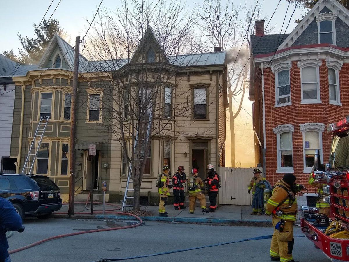 House fire in Carlisle