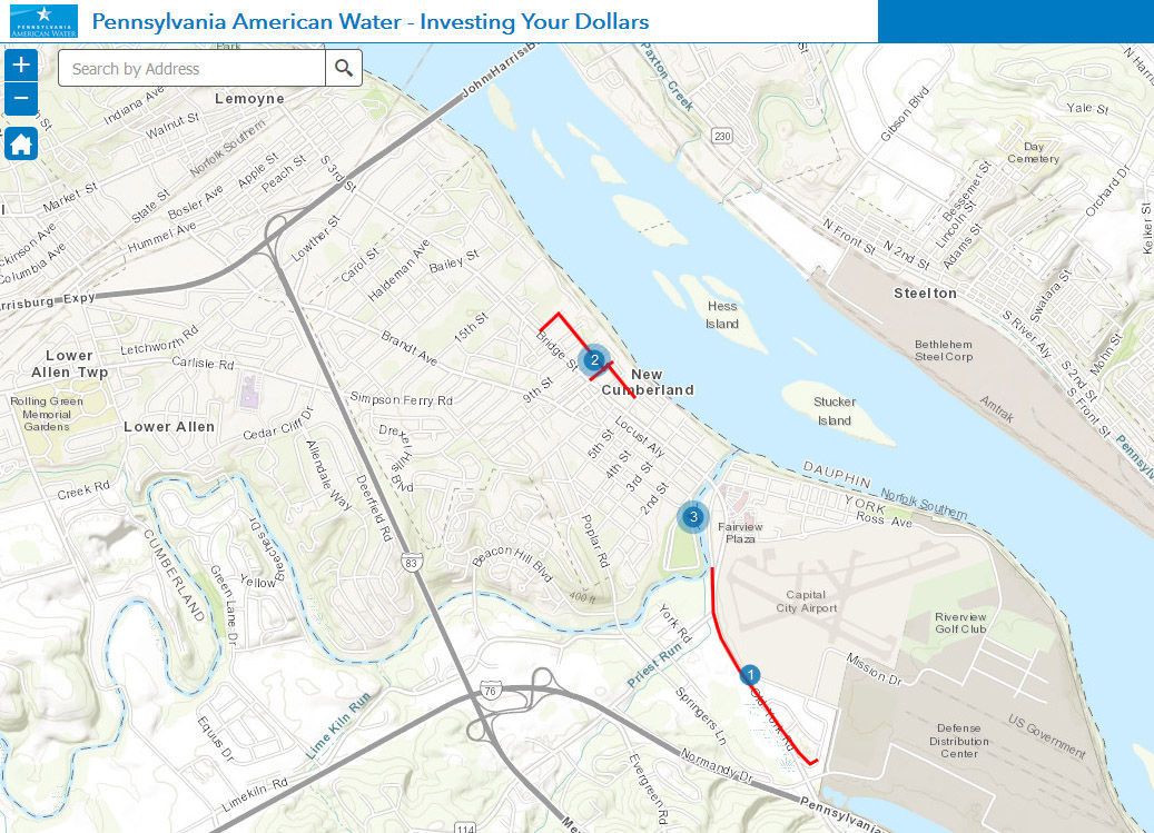 Pennsylvania American Water unveils interactive map on pipeline