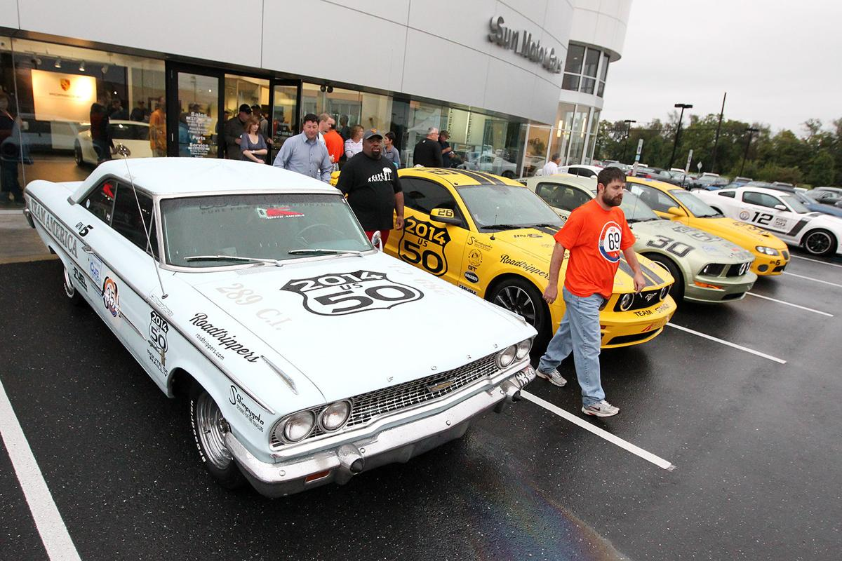 Mille for ms sets record turnout despite wet weather for Sun motor cars mechanicsburg