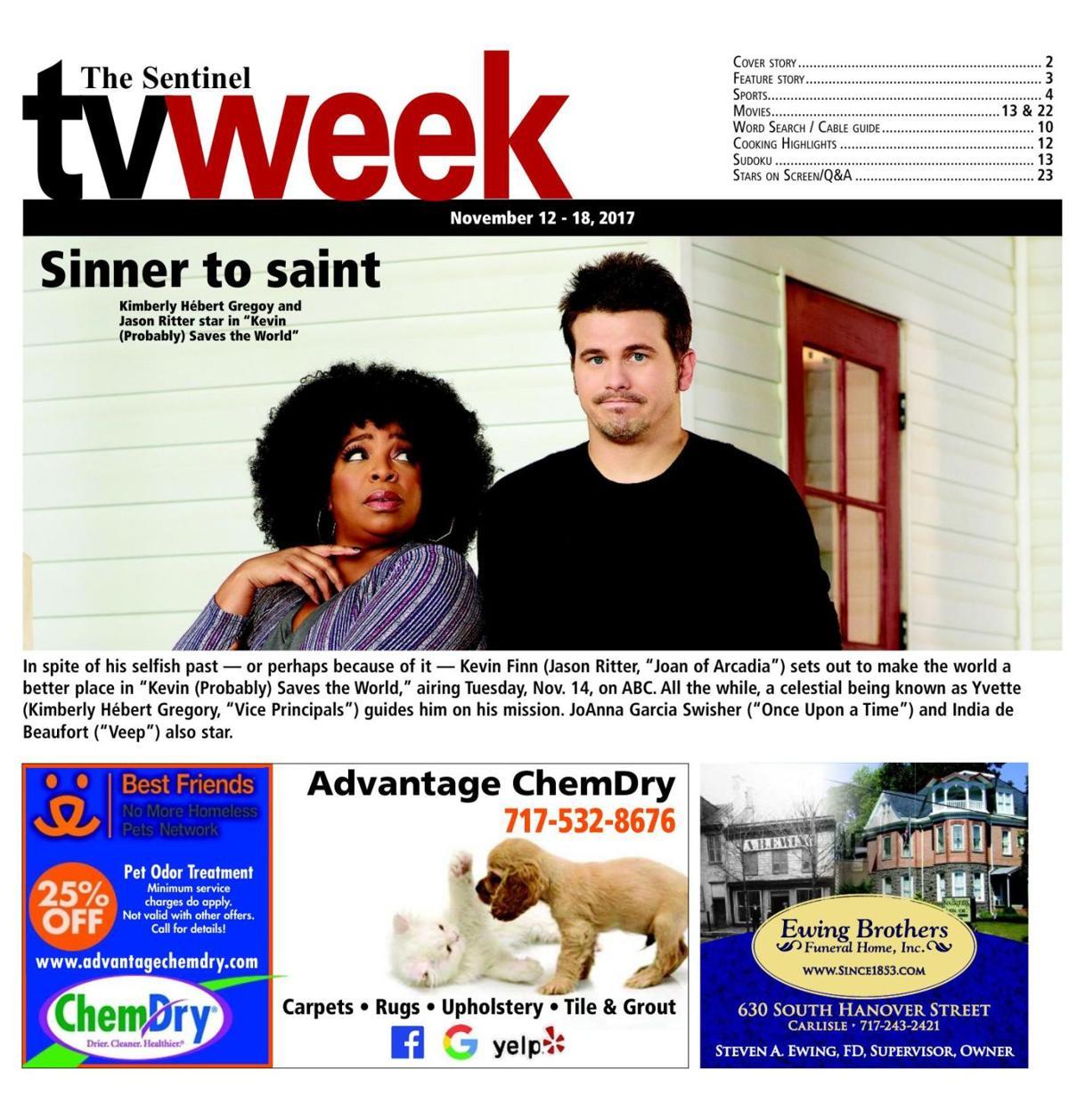 TV Week - November 12 - 18